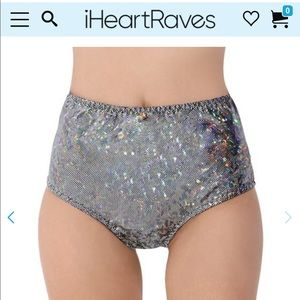 Rave high waisted booty shorts
